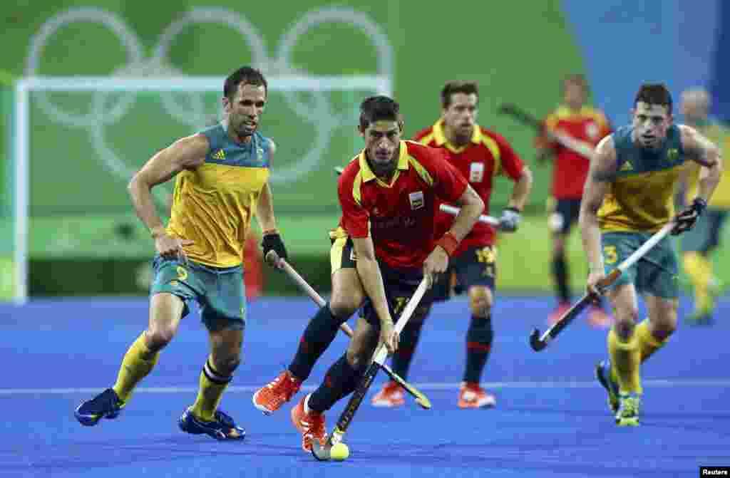 ریو اولمپکس میں ہاکی کے ایک میچ میں اسپین نے آسٹریلیا کو ایک گول سے شکست دے دی۔