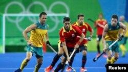 အမ်ိဳးသား Hockey ၿပိဳင္ပြဲ Australia အသင္းႏွင့္ Spain အသင္း