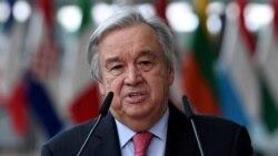 聯合國秘書長敦促美中勿讓雙邊爭端影響對抗氣變