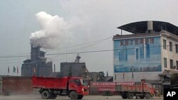 中國城市工業污染嚴重
