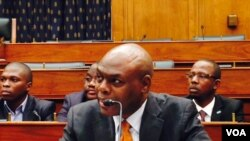 Shaka Ssali moderates a panel on Capitol Hill on the importance of youth leadership in Africa