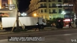 Amateur Video Captures Truck Attack