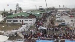 People Still Leaving Philippines Typhoon Area