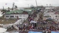 People Still Leaving Philippines Typhoon Area