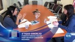 Diniy erkinlik: AQSh O'zbekistondagi vaziyatni qanday baholamoqda?