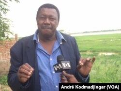 Le docteur Djimadoum Nambatingar, géologue, au Tchad, le 30 août 2018. (VOA/André Kodmadjingar)