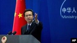 Пресс-секретарь китайского МИДа Хон Лей (архивное фото)