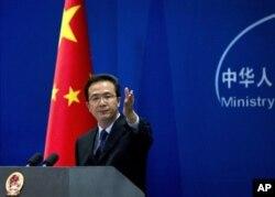 中国外交部发言人洪磊(2012年9月5日)