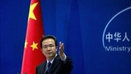 Phát ngôn nhân Bộ Ngoại giao Trung Quốc Hồng Lỗi nhấn mạnh tất cả các nước đều có quyền tự do hàng hải ở Biển Đông theo đúng tinh thần luật quốc tế.