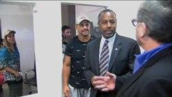 Carson supera a Trump ante tercer debate