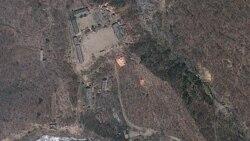 북한 핵실험장 공사...몽골 대통령 방북