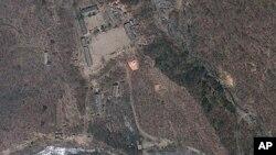 북한 함경북도 길주군 풍계리 핵실험장의 위성사진. (자료사진)