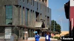 Sehemu ya mji wa Harare, Zimbabwe ikuwa na watu wachache kutokana na kufungwa kwa shuguli za kawaida kwa ajili ya Covid.