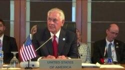 蒂勒森抵達馬尼拉出席東盟外長會議