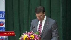 Bộ trưởng Quốc phòng Mỹ lên án TQ trong chuyến thăm VN