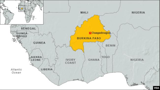 Disabled Women Confront Overcome Stigma In Burkina Faso - Burkina faso map