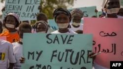 Wanawake waandamana kupinga vita vinavyoendelea nchini Sudan Kusini.
