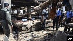 Поліція на місці атаки угруповання Боко Гарам