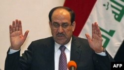 Thủ tướng Iraq Nuri Kamel al-Maliki.
