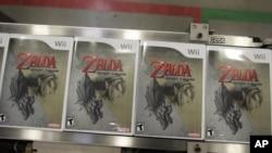 "На фото: пакунки з грою ""Legend of Zelda"" для консолі Wii. 2006-й рік"