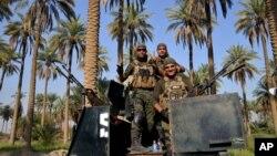 ارتش عراق ساحات اطراف فلوجه را مستحکم ساخته اند
