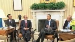 奥巴马赞缅甸改革 敦停止袭击穆斯林