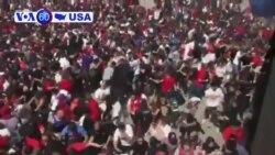 Manchetes Americanas 18 Junho: Desfile em homenagem aos campeões da NBA, Toronto Raptors, manchado por tiroteio
