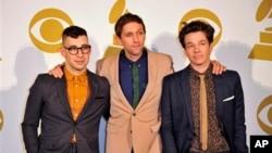 Sastav fun. - Jack Antonoff, Andrew Dost i Nate Ruess - nominiran za sest Grammyja