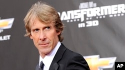 "FILE - executive producer and director Michael Bay attends the ""Transformers: Dark Of The Moon"" premiere in Times Square in New York."