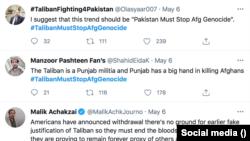 «طالبان د پاکستان لپاره جنګیږي» هشټګ