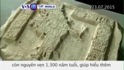 Phát hiện bộ chữ tượng hình Maya 1.300 năm tuổi (VOA60)