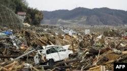 Những vùng dọc theo bờ biển Thái Bình Dương của Nhật bị sóng thần tàn phá hôm 11 tháng Ba