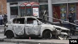 En el Reino Unido, las revueltas han sido más actos vandálicos que protestas sociales o políticas.