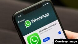 Manhajar WhatsApp a wayar salula