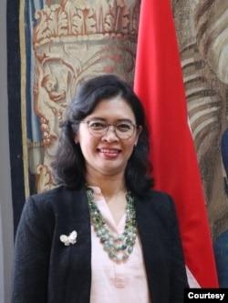 Mantan Utusan Indonesia uUntuk Komisi HAM ASEAN Dinna Prapto Raharja. (Foto: Dinna)