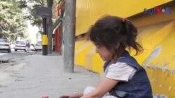 کابل کی پانچ سالہ محنتی نبیلہ