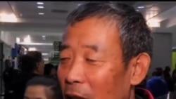 2013-11-07 美國之音視頻新聞: 中國維權人士陳光誠家人抵達美國