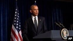Rais Obama alielezea ufyatuaji risasi uliotokea Dallas.