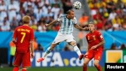 Argentina đã đánh bại đội Bỉ với tỉ số 1-0 tại Brasilia.