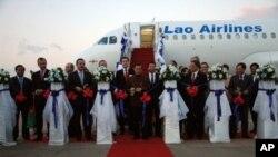 ບໍລິສັດການບິນລາວ ໄດ້ຮັບການສົ່ງມອບເຄື່ອງບິນ Airbus ລຸ່ນ A-320 ແລ້ວ 1 ລໍາໃນຈໍານວນ 2 ລໍາ ທີ່ສັ່ງຊື້ຈາກຝຣັ່ງ