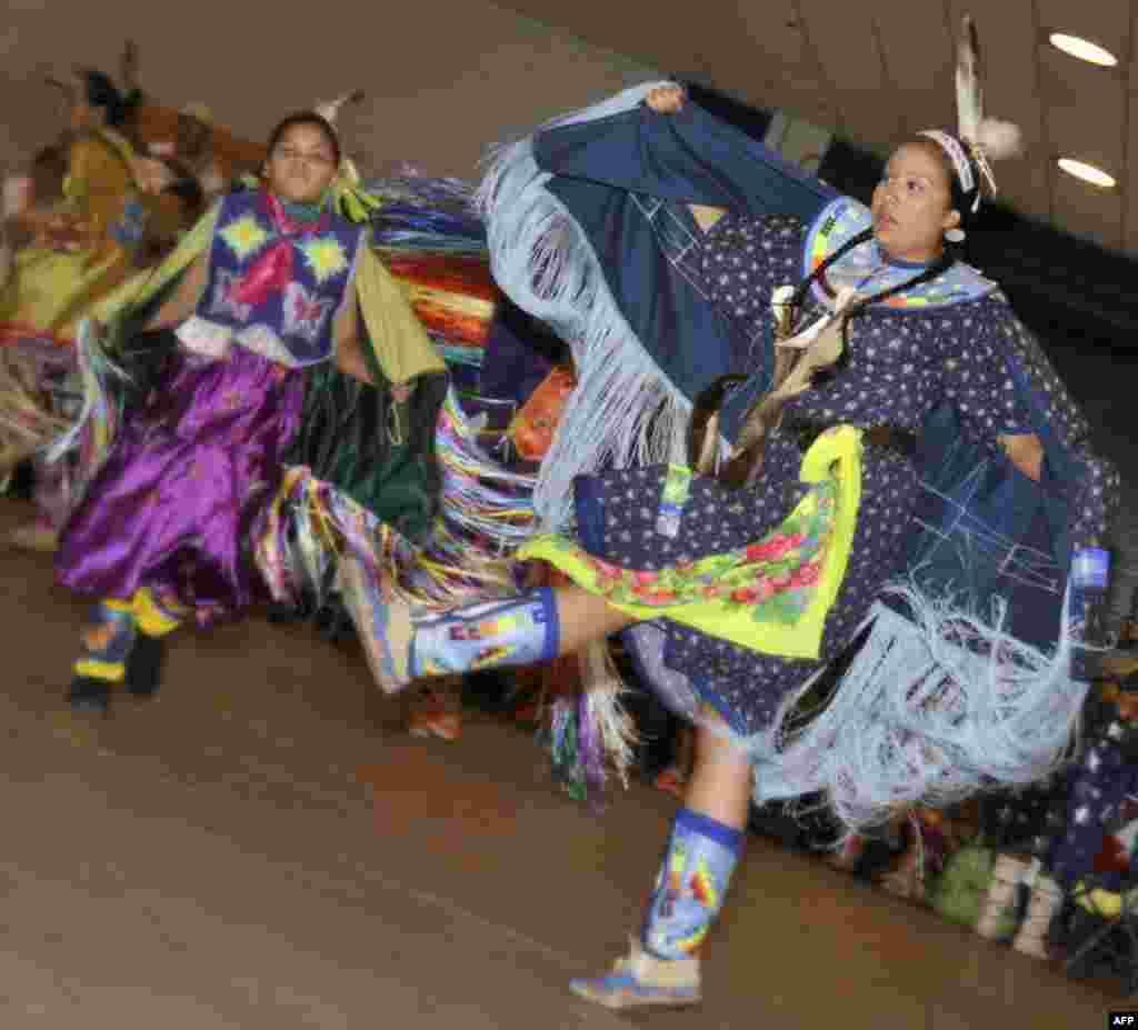 Индейцы в дни солнцеворота