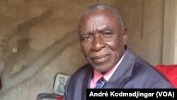 L'opposant Ngarlejy Yorongar, au Tchad, le 16 septembre 2019. (VOA/André Kodmadjingar)