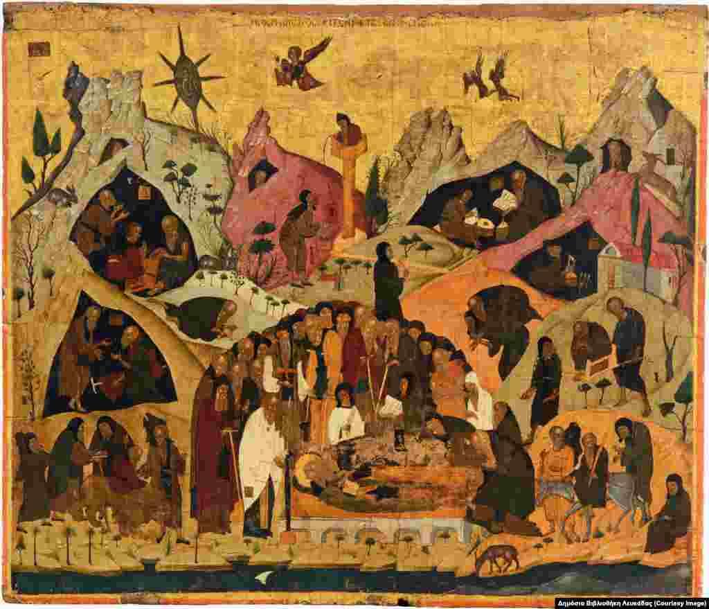 Κοίμηση του Αγίου Σάββα, 15ος αιώνα