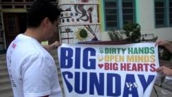 Volunteers to Help Their US Communities on 'Big Sunday'