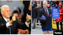 Glen Pannel, seorang pria gay dan berwajah mirip Mike Pence mengumpulkan uang untuk LGBTQ