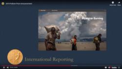 ၂၀၁၉ Pulitzer ႏုိင္ငံတကာသတင္းက႑ဆု ကုိ၀လုံး၊ ကုိေက်ာ္စုိးဦး တို႕နဲ႕အတူ ရုိက္တာသတင္းေထာက္ေတြရရွိ