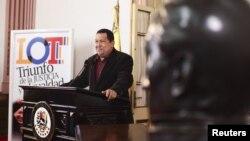 Chávez hizo el anuncio que luego fue apoyado por la Asamblea Nacional.