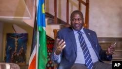 南苏丹反政府武装领导人马查尔。