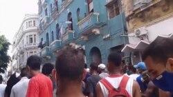 Protesta Centro Habana