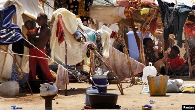 Malianos deslocados pela guerra